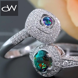 Classic and contemporary alexandrite jewelry.