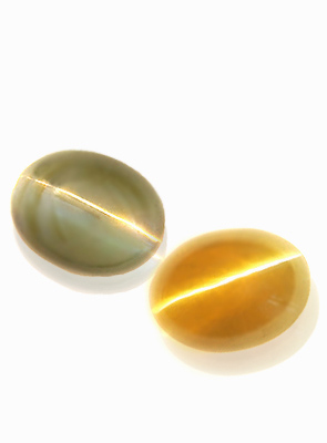 Natural Chrysoberyl Cats Eye Gemstones